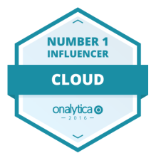ONALYTICA #1 top 100 cloud influencers 2016